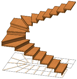 formule blondel escalier quart tournant