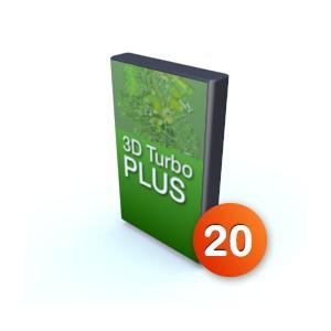 3D Turbo Plus v20 - Licence complète
