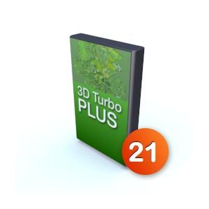 3D Turbo Plus v21 - Licence complète