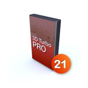 3D Turbo Pro v21 - Licence complète